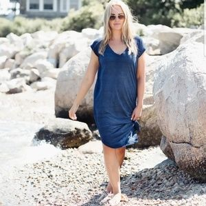 Anthropologie Cloth and Stone Nila T Shirt Dress